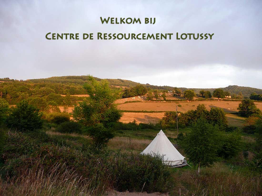 Welkom op natuurcamping Lotussy